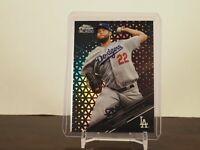 2020 TOPPS CHROME BLACK CLAYTON KERSHAW Card 99 /199 Dodgers SP