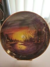 Franklin Mint Heirloom Twilight Haven Collectors Plate 8""