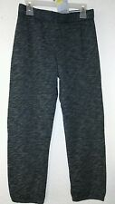 New Danskin Now Girls' Fleece Foldover Pant Color Gray Size M