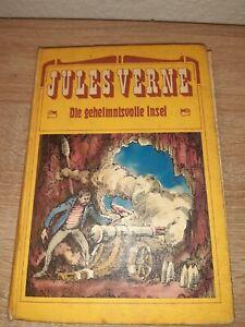 Die Geheimnisvolle Insel – Jules Verne DDR Jugendbuch Abenteuer Buch