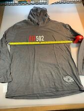 District Made Fit 502 Triathlon T Shirt Hoodie 2Xl Xxl (6560-1)