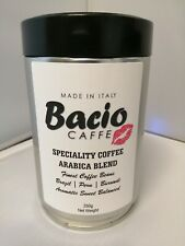 Bacio 250g Tin of Coffee Beans Specialty Coffee 100% Arabica