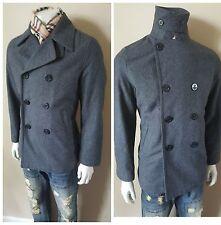 Nwt $269 J. C. Rags Slim Gray Peacoat Jacket Coat Medium Mens 38 40 48Eu Hipster