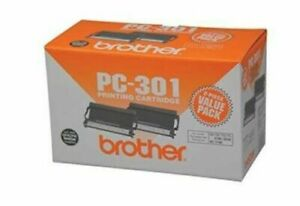 BROTHER PC-301 Printing Cartridge Value Pack 2 Cartridges - New in Box