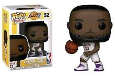 NBA (Basketball): LA Lakers - Lebron James (White Uniform) Pop! Vinyl Figure NEW