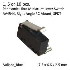 1/5/10pcs Ultra Miniature Panasonic SPDT MOM Lever Switch 0.5A 30Vdc, AV4544