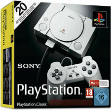 Sony PlayStation Classic Console con 2 Controller - Grigia