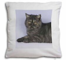 Exotic Smoke Cat Soft Velvet Feel Cushion Cover With Inner Pillow, AC-51-CPW