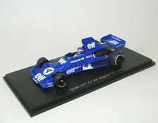 Tyrrell 007 no. 4 P. Depailler 4th BELGIUM GP 1975