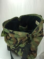 US Military Flyers Pilot Helmet Hand Bag Camouflage Padded Faux Velvet Air Force