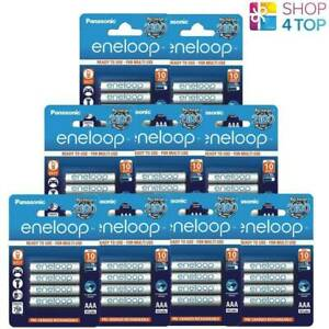 36 Panasonic eneloop Rechargeable AAA HR03 Batteries Blister 1.2V 800mAh New