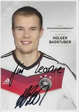 Holger Badstuber  DFB  WM 2014  Autogrammkarte original signiert 372569