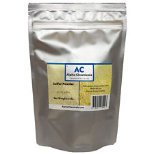 1 Pound - Sulfur - 99.5% Pure - Powder