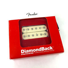 Genuine Fender DiamondBack Humbucker Pickup Aged White Fat Strat 099-2219-105