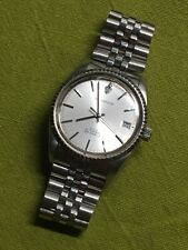 Sandoz Vintage Watch Datejust Eta 2836-2 25j 28800 Bph Swiss Made Very Rare