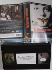 Das Schweigen der Lämmer Thriller FSK frei ab 16 Jahre VHS gebr.
