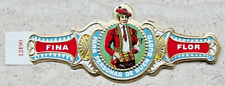 465VR-MEXICO Vitola-Cigar Band-Marca  FINA FLOR, PARA PERSONAS DE BUEN GUSTO