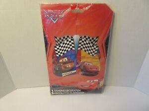 Disney Pixar CARS Lightning McQueen Tow Mater Hanging Decoration NEW Party Decor