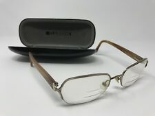 Liz Claiborne L307 68P 9/1 Eyeglasses Frames Brown 53-19-130 Half-Rim
