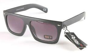 Australian Quay 1505 Matte Black Frame & Arms Grey Smoke Sunglasses NEW