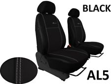 TOYOTA AYGO Mk2 2014 ONWARDS ECO LEATHER & ALCANTRA TAILORED FRONT SEAT COVERS
