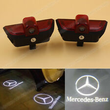 2x LED Door Step Courtesy Laser Projector Light For Mercedes Benz C-Class W204