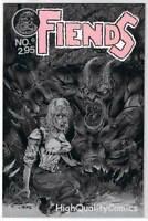 FIENDS #0, VF/NM, Tim Tyler, Fathom Press, 1992, more indies in store