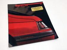 1985 Mercury Capri Brochure