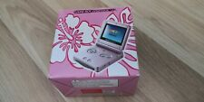NINTENDO GAME BOY ADVANCE SP PINK ROSE MODEL AGS 101