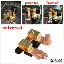 24v Battery Disconnect Knife Blade Switch Top Post Brass Shut off  Auto Boat Top