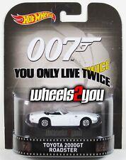 TOYOTA 2000GT ROADSTER - James Bond 007 - Hot Wheels Retro Entertainment