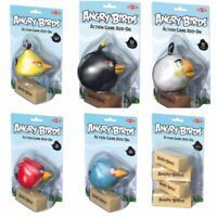 TACTIC ANGRY BIRDS ACTION GAME ADD ON WOODEN BLOCKS SOFT TOYS