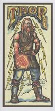 PAGAN WICCAN GREETING CARD THOR NORSE GODS Vikings RAGNAROK HEDINGHAM FAIR