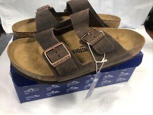 Birkenstock Arizona BS Habana Leather Slide Sandals #005253 Men's 10 #43 REG
