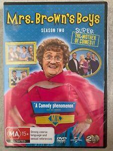 Mrs. Brown's Boys : Series 2 (DVD, 2012, 2-Disc Set) sealed