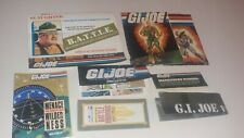 GI Joe flyer lot - Mostly 1980's - GI JOE - Cobra - Hasbro