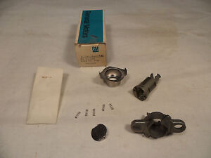 82-99 NOS Rear Compartment Tailgate Lock Cylinder GM 20496056 Tail Gate