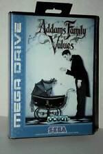 ADDAMS FAMILY VALUES USATO BUONO STATO MEGADRIVE EDIZIONE ITALIANA FR1 43898
