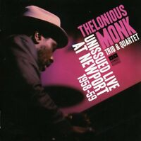 Thelonious Monk - Unissued Live at Newport 1958-59 [New CD]