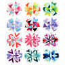 12pcs Baby Toddler Hair Boutique Ribbon Bows Alligator Hair Clips Bow Hairpins