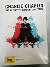 CHARLIE CHAPLIN DEFINITIVE COLLECTION 10-DVD R4 PAL SEALED oz seller 10 MOVIES