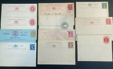 More details for qv british west indies postal stationery lot x 11. i used. 4  with reply .