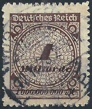Korbdeckel MiNr. 325BP mit Handbuchplattenfehler PE3 gestempelt