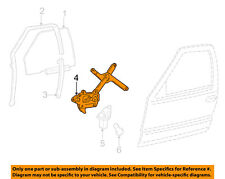 GM OEM Front Door-Window Lift Regulator 93386009