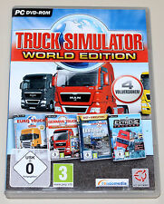 TRUCK SIMULATOR WORLD EDITION - INKL EURO GERMAN LKW RANGIER EXTREME TRUCKER 18