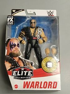 MATTEL WWE ELITE COLLECTION SERIES 87 COLLECTOR'S EDITION WARLORD