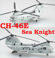 "Easy Model 1/72 US Marines CH-46E ""Too Cool"" Sea Knight Helicopter HMM-163#37000"
