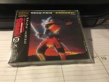 GRAND PRIX - SAMURAI Japan Import CD + OBI BURRN! Series TOCP-8086