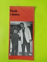 """Danish Film Program """"Zum Teufel mit der Penne""""Heintje.Peter Alexander."""