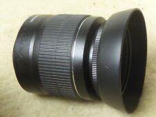 Canon EF-S 18-55mm 1:3.5-5.6 III MACRO Zoom Lens for EOS DSLR + hood + uv filter